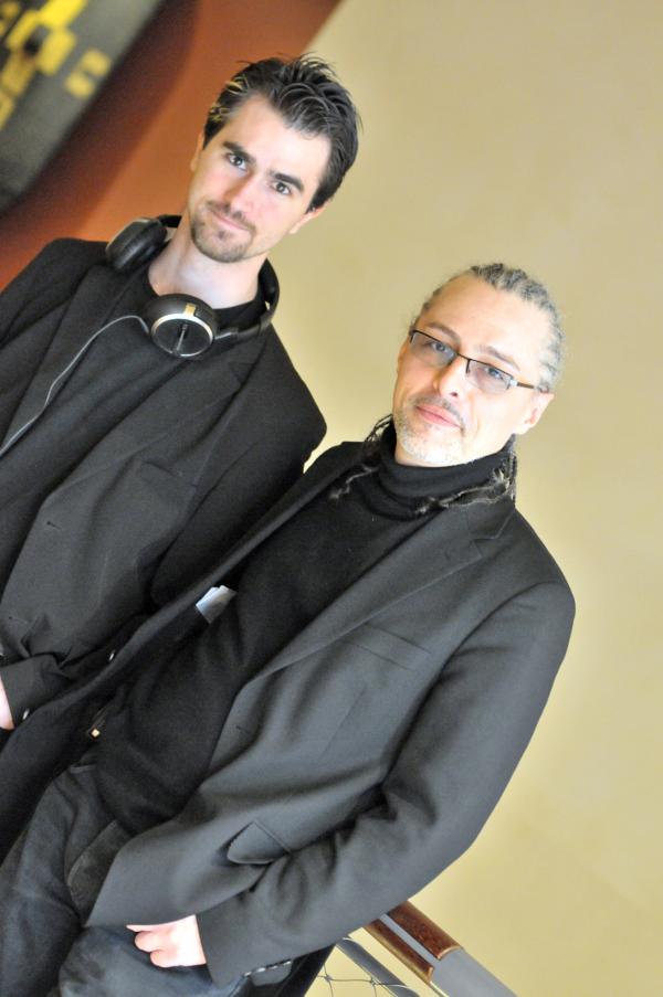 Jean-Baptiste Descroix-Vernier et Paul da Silva